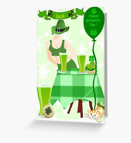 St.Patrick's Day Card ( 859  Views) Greeting Card