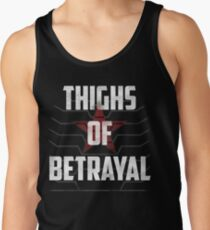 Thighs of Betrayal- The Winter Soldier Tank Top