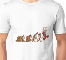 ~ DK To Mario Evolution ~ Unisex T-Shirt