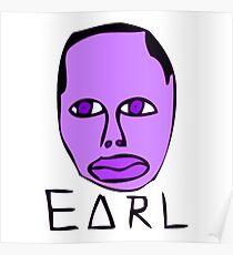 purple ear Poster
