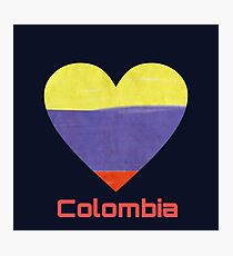 Love Colombia Photographic Print