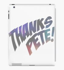 Thank you, Peter. iPad Case/Skin