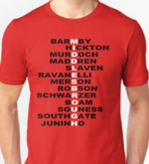 MIDDLESBROUGH F C BORO LEGENDS T-Shirt