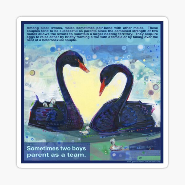 Happily Ever After (Black Swan) Sticker