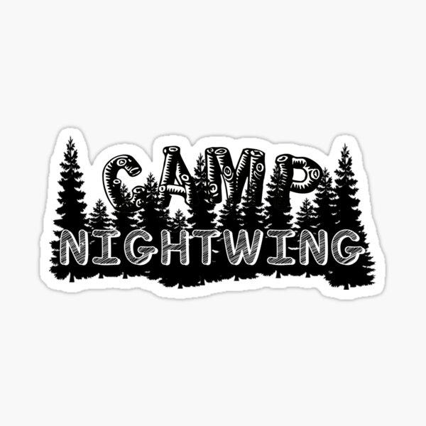 Camp Nightwing (Fear Street: 1978) Sticker