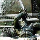 Triton--a Greek God by Sassafras