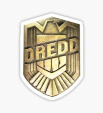 Dredd Badge Sticker