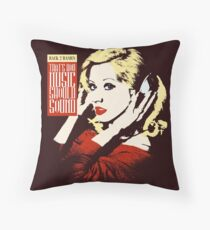 How Music Should Sound Throw Pillow