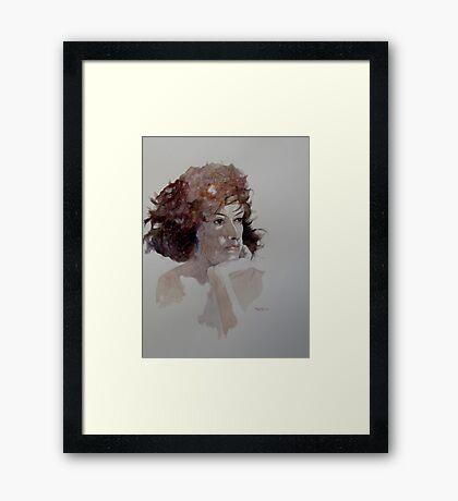 Rebecca V Framed Print