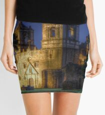 Nighttime at San Juan Mission Mini Skirt
