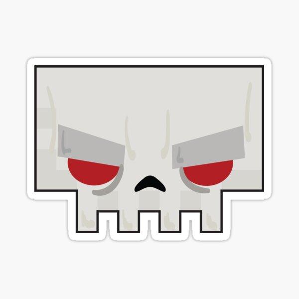 Slayaway Camp - Skullface Minimal Sticker