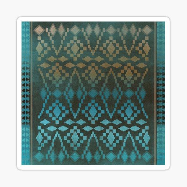 Aqua Southwest Ombre' Sticker