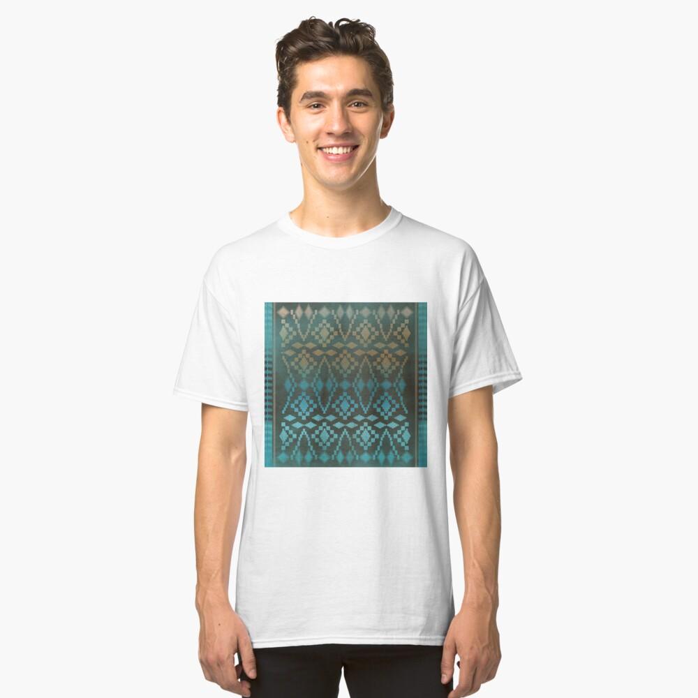 Aqua Southwest Ombre' Classic T-Shirt