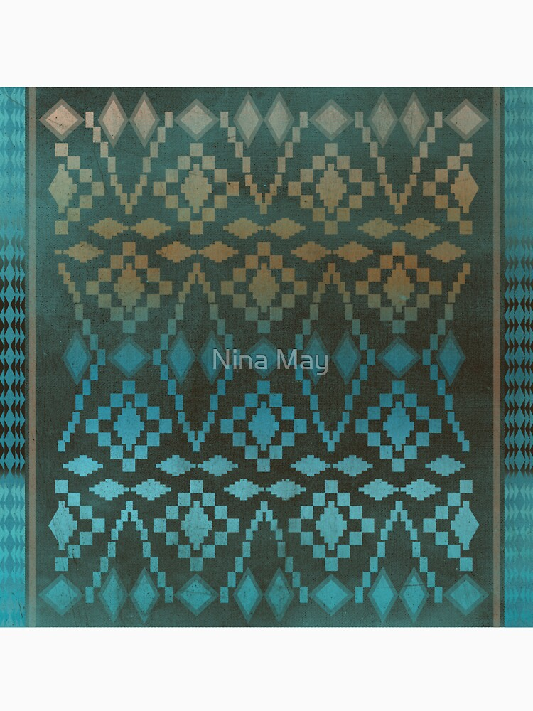 Aqua Southwest Ombre' by ninabmay