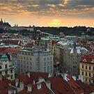 Prague Sunset by Cameron B