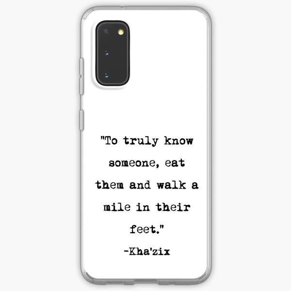 Kha' zix quote Samsung Galaxy Soft Case