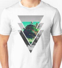 Howls Moving Castle- Studio ghibli Slim Fit T-Shirt