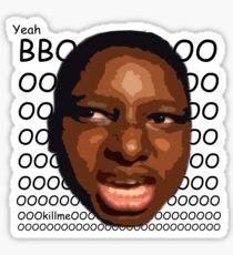 Yeah BOOOOOOIIII Sticker