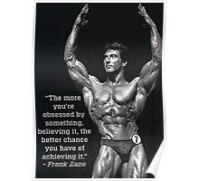 Obsession - Frank Zane Motivation Poster