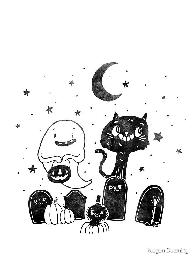 Graveyard Friends by pigandpumpkin