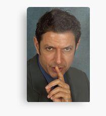 Jeff Goldblum Metalldruck