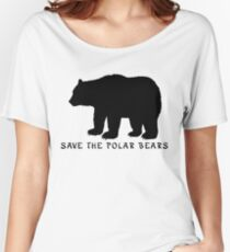 Save the Polar Bears! Women's Relaxed Fit T-Shirt