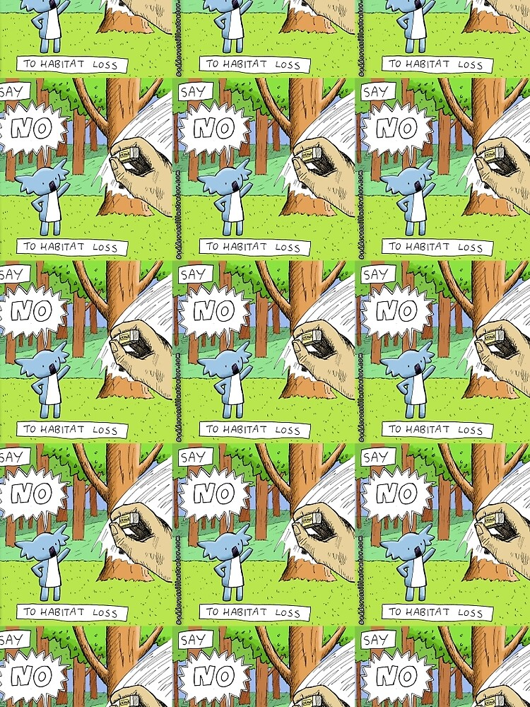 Koala Says No to Habitat Loss by eddcross