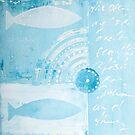 Blue fish II by artsandsoul