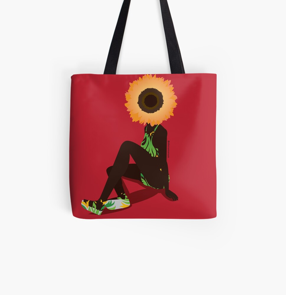 Mother Nature - Young All Over Print Tote Bag