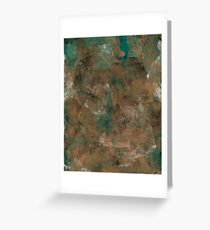 Patina Copper Greeting Card