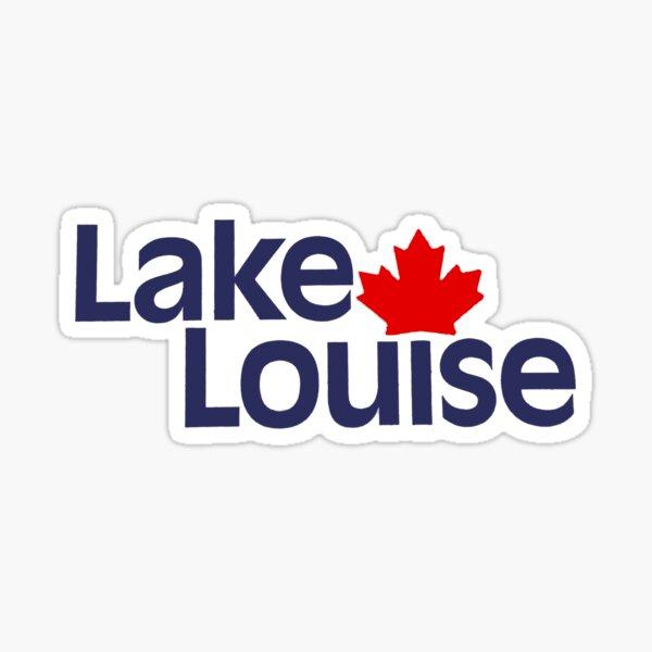 Lake Louise Canada Sticker
