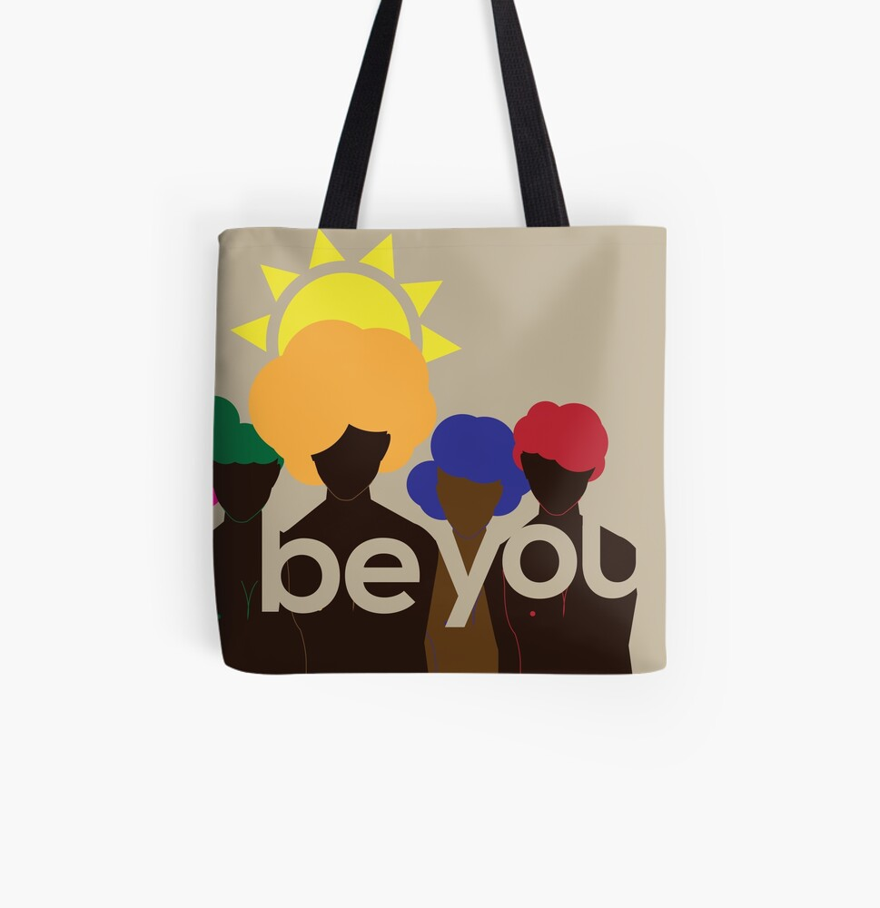 Be You All Over Print Tote Bag