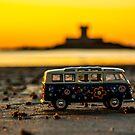 Hippie sundown by Gary Power
