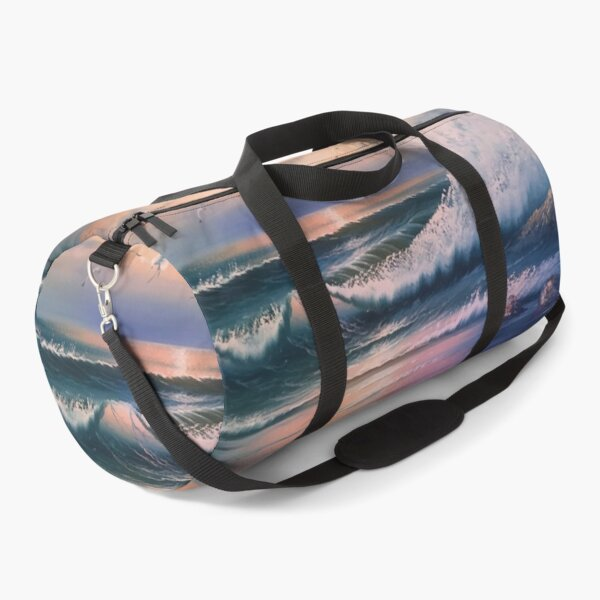 Crashing Ocean Wave Duffle Bag