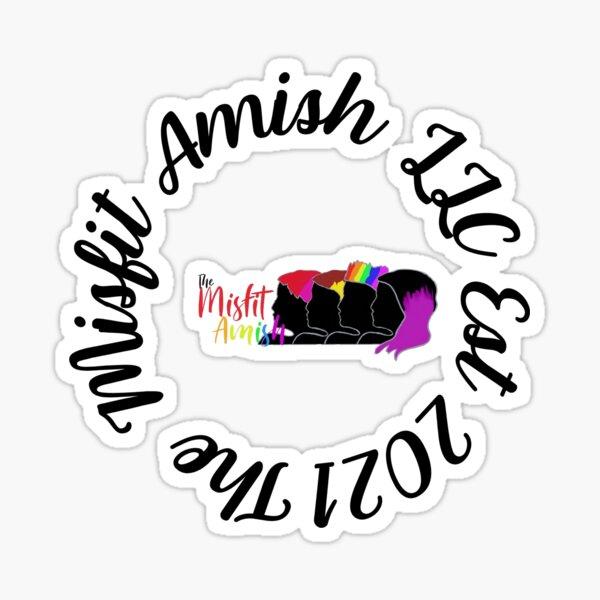 The Misfit Amish Sticker