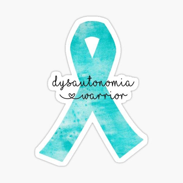 Dysautonomia Warrior Sticker