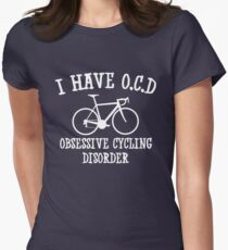 I have OCD - Obsessive cycling disorder Women's Fitted T-Shirt