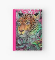 Rainbow jaguar Hardcover Journal