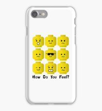 'How Do You Feel?' by Customize My Minifig  iPhone Case/Skin