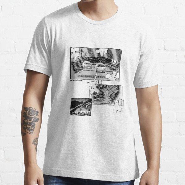 Initial D Manga Print Essential T-Shirt