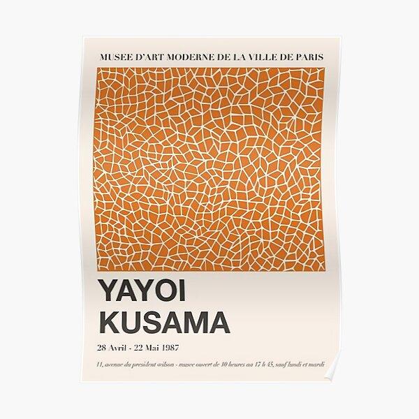 Yayoi Kusama 1987 Poster