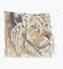Dominion (African Lion) Wall Tapestry