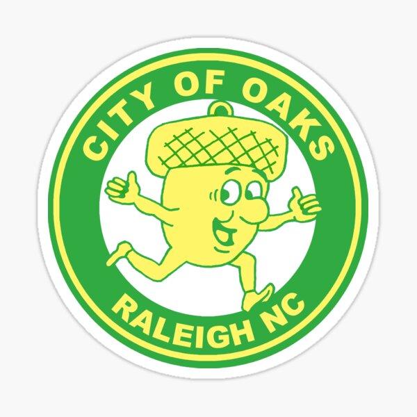 Raleigh Acorn Guy Sticker