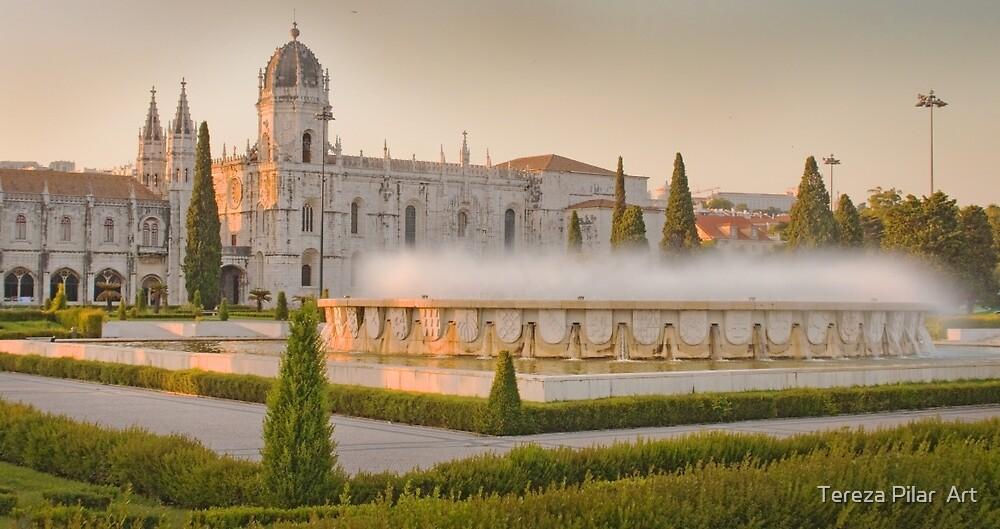 Praça do Império. Mosteiro dos Jerónimos. sunset by terezadelpilar ~ art & architecture