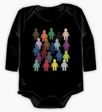 United Colors of Minifig [Large]  One Piece - Long Sleeve