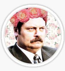 Ron Swanson Sticker