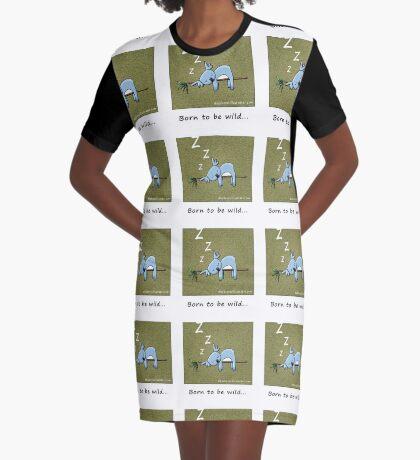 Koala - Born To Be Wild Graphic T-Shirt Dress