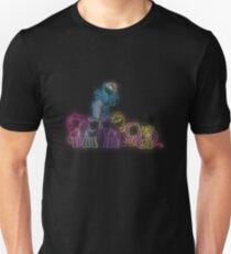 Pony Friends Neon Glow Nights T-Shirt