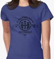 School Themed Voltron Womens Fitted T-Shirt