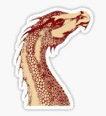 Petoskey Dragon Sticker